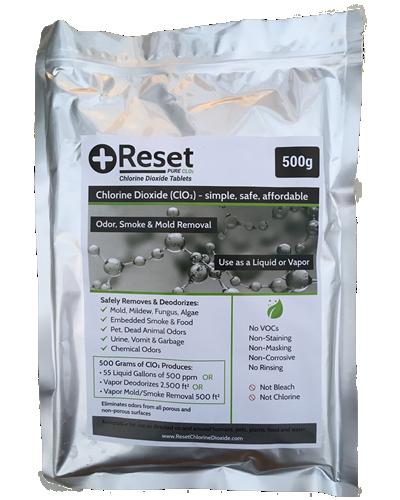 Reset CLO2 Black Pak 500 grams